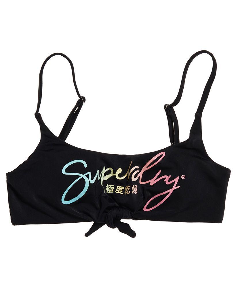 Superdry Ombre Knot Crop Bikini Top