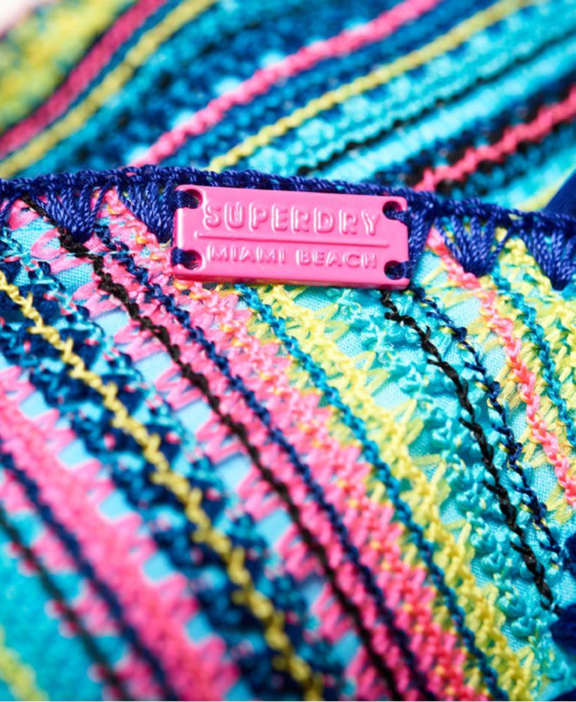 Superdry Crochet Carnival Tri Bikini Top