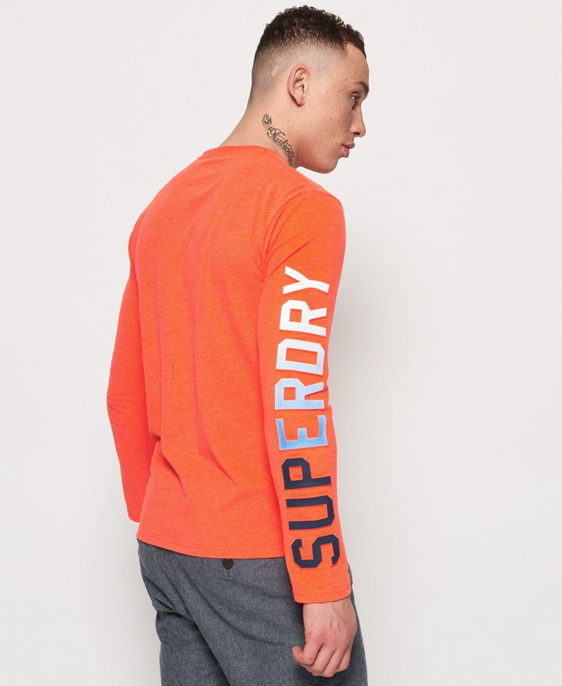 Superdry Vintage Logo Authentic Fade Long Sleeve T-Shirt