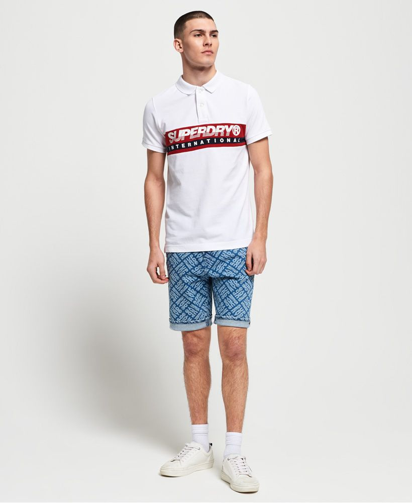 Superdry International Chest Band Polo Shirt