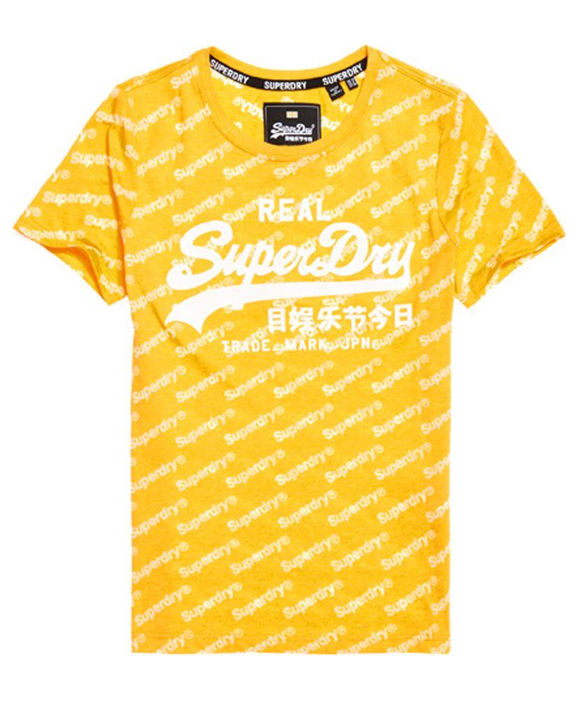 Superdry Vintage Logo Sport All Over Print T-Shirt