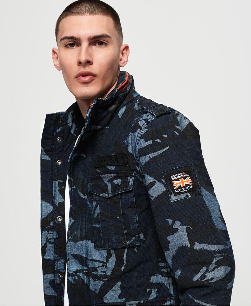 Superdry Indigo Rookie Pocket Jacket