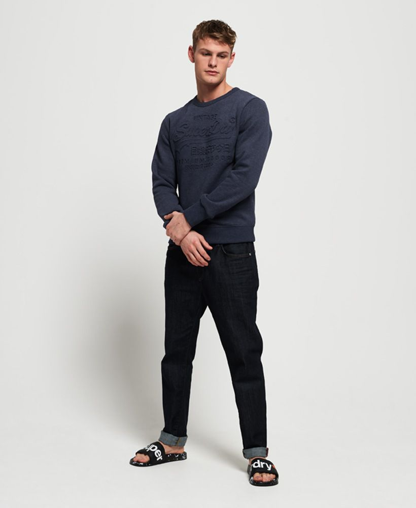 Superdry Premium Goods Embossed Debossed Sweatshirt