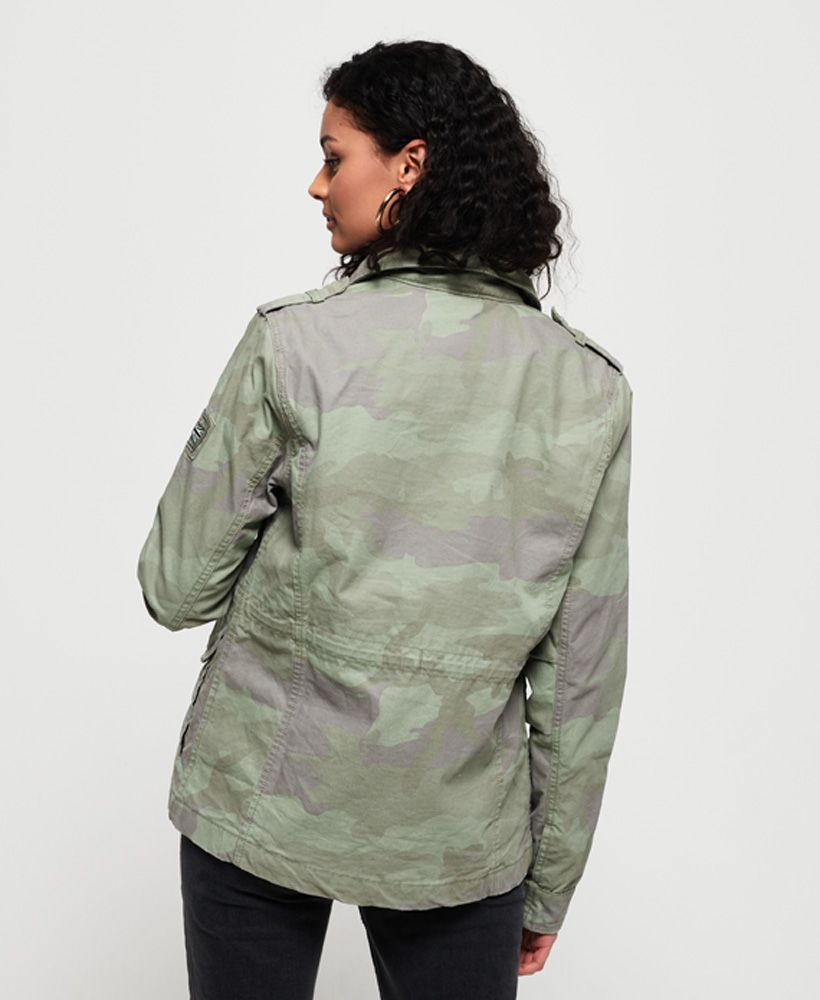 Superdry Delta Soft Camo Rookie Pocket Jacket