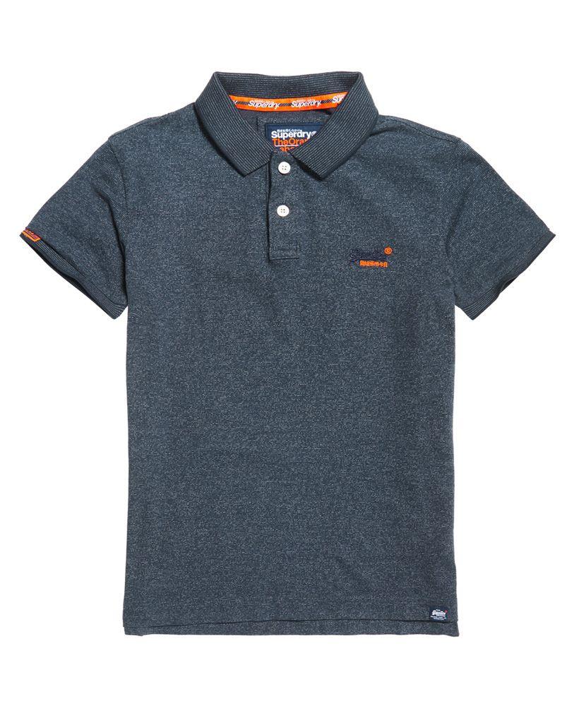Superdry Orange Label Jersey Polo Shirt