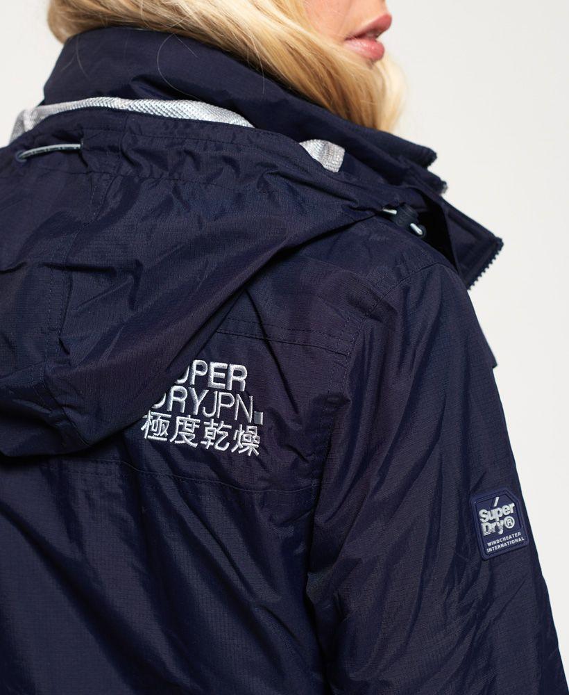 Superdry Tech Hooded Pop Zip SD-Windcheater Jacket