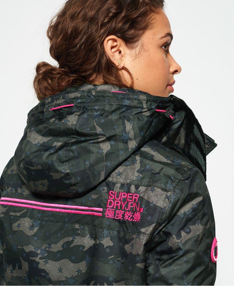 Superdry Print Arctic Hooded Pop Zip SD-Windcheater Jacket