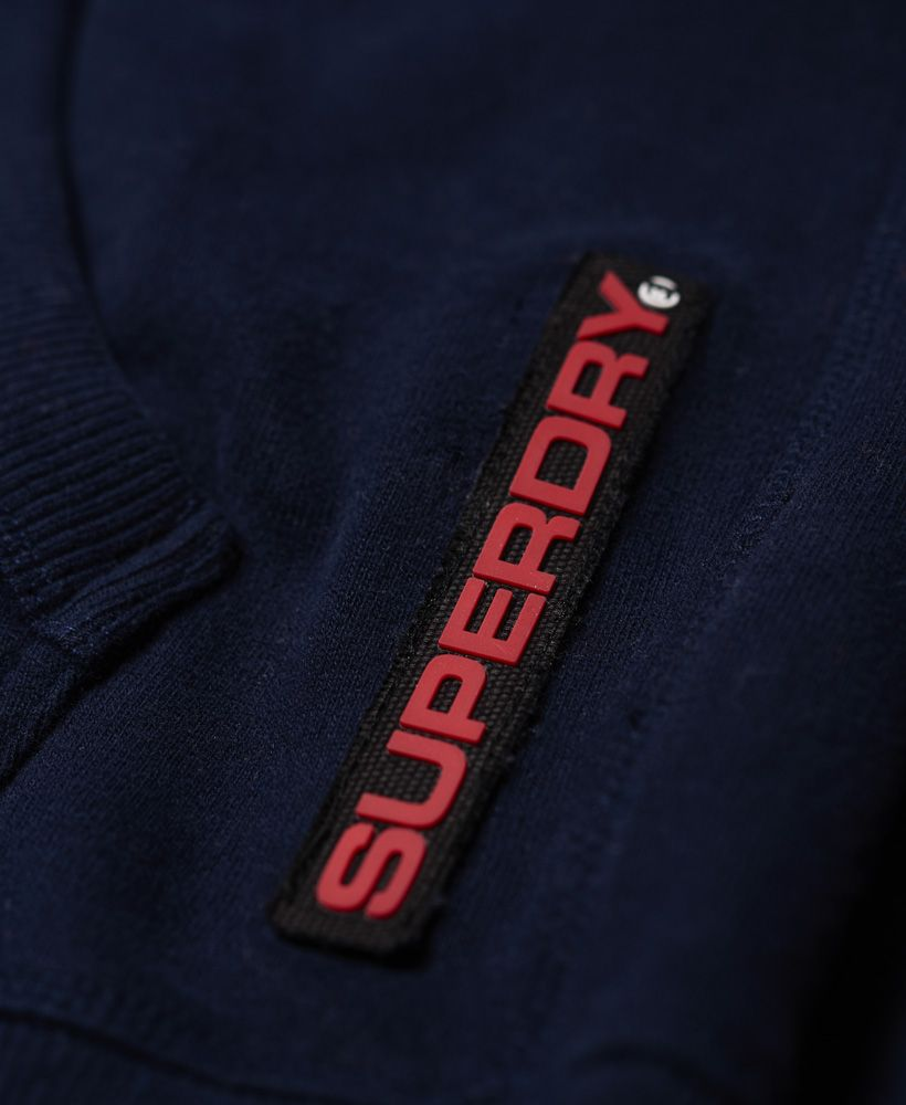Superdry Trophy Tri Line Zip Hoodie