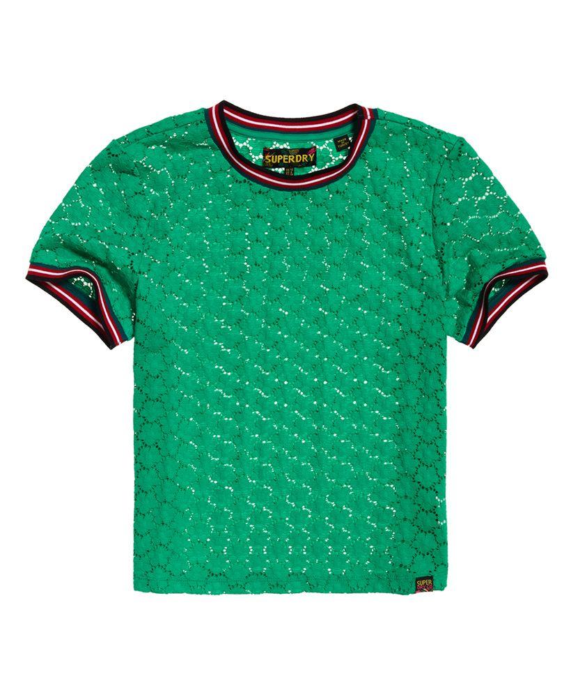 Superdry Ayesha Lace T-Shirt