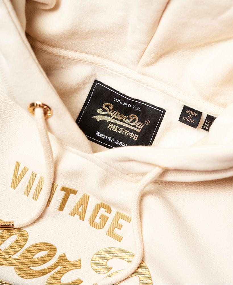 Superdry Vintage Logo Premium Luxe Hoodie