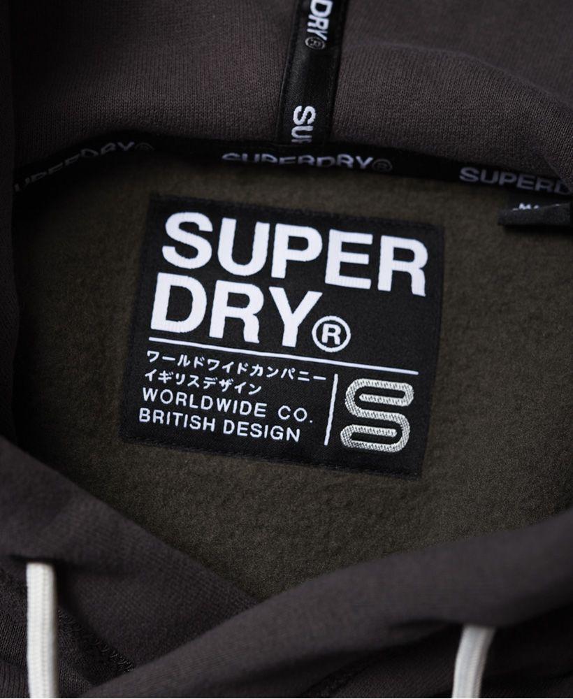 Superdry Orange Label Elite Crop Hoodie