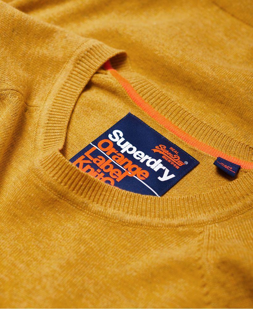 Superdry Orange Label Cotton Crew jumper