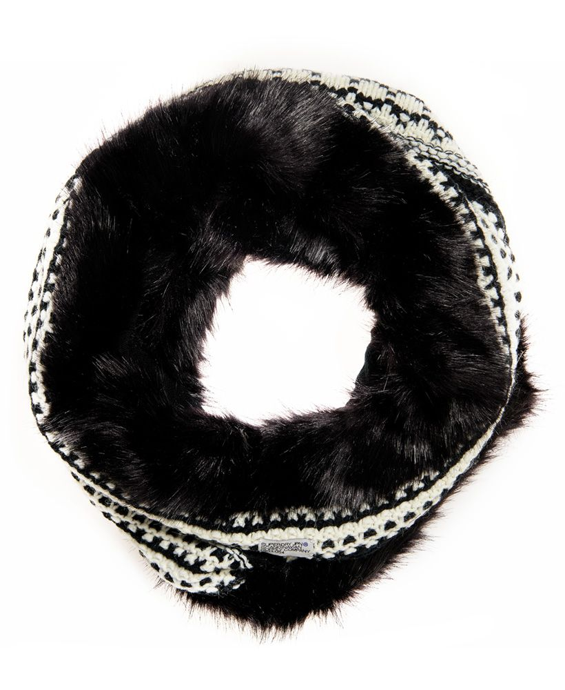 Superdry Nordic Faux Fur Snood