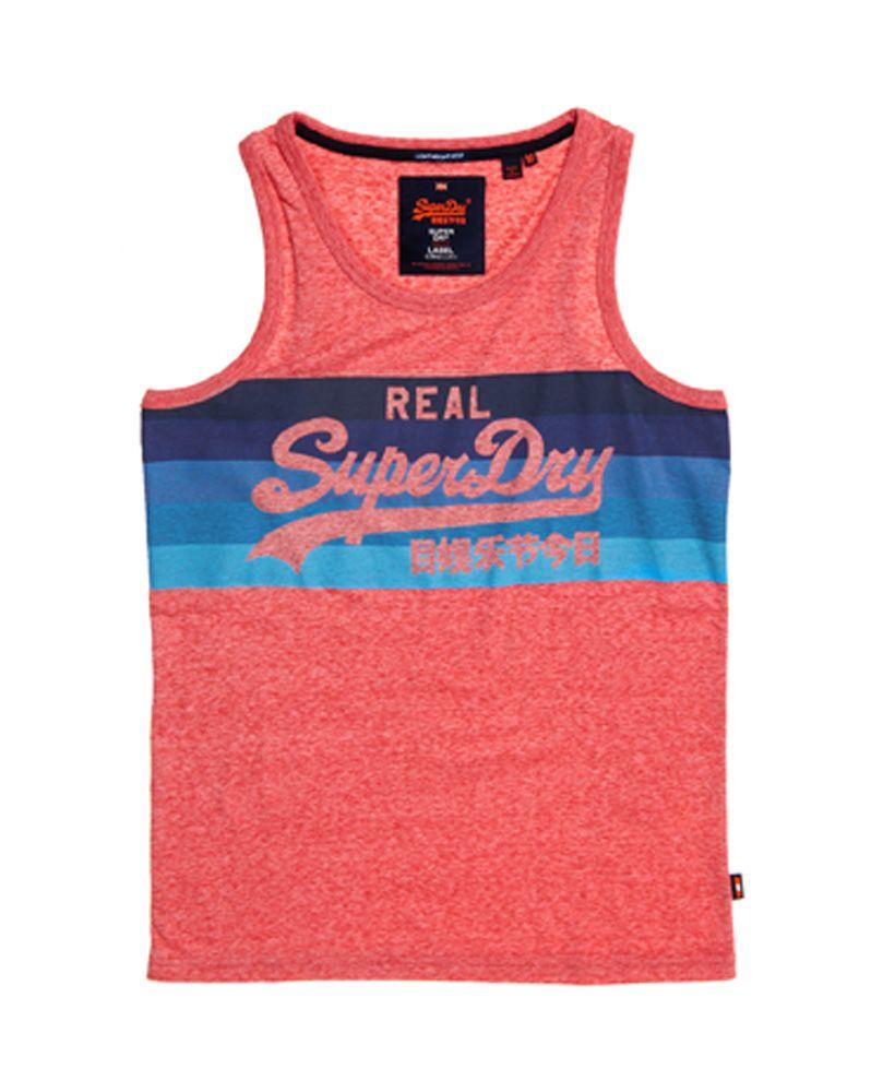 Superdry Vintage Logo Cali Stripe Vest Top