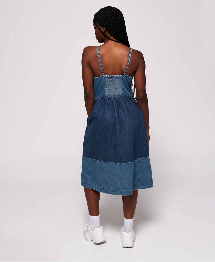 Superdry Denim Midi Dress