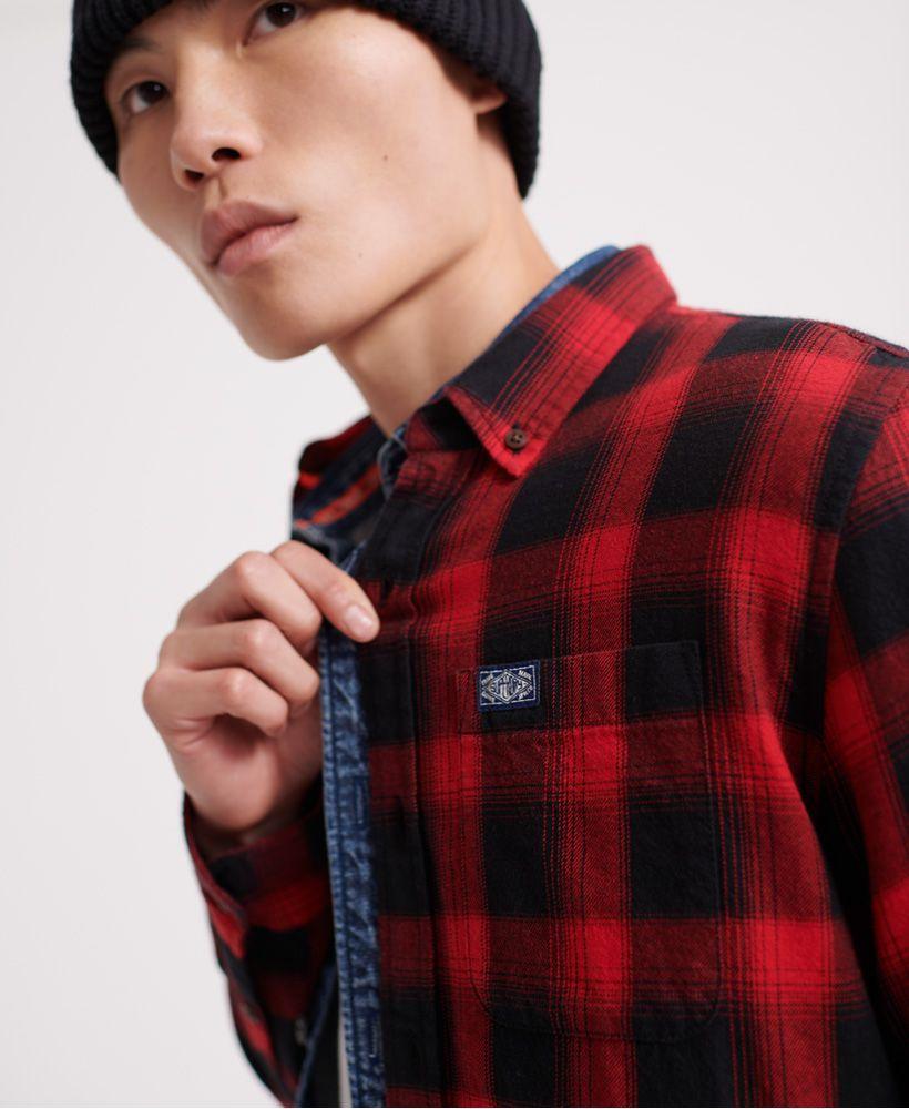 Superdry Workwear Long Sleeved Shirt