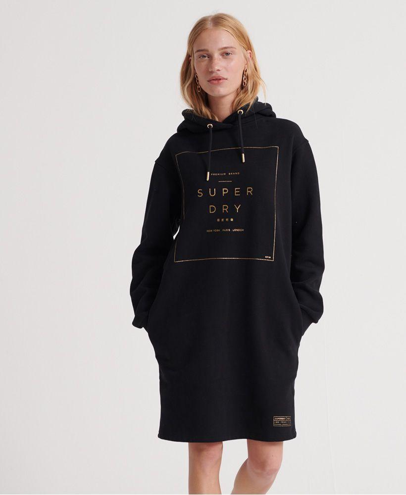 Superdry Oversized Scandi Hooded Dress