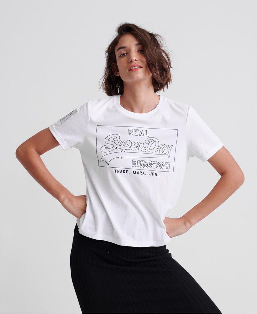 Superdry Vintage Logo Outline T-Shirt