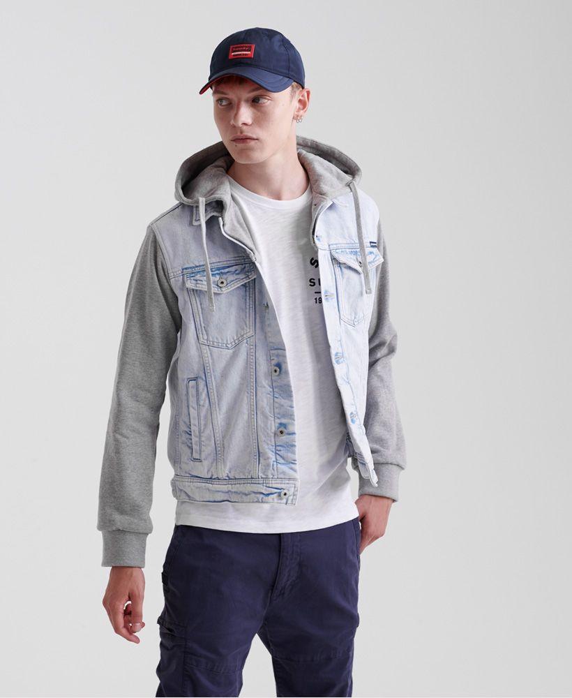 Superdry Hooded Highwayman Trucker Jacket