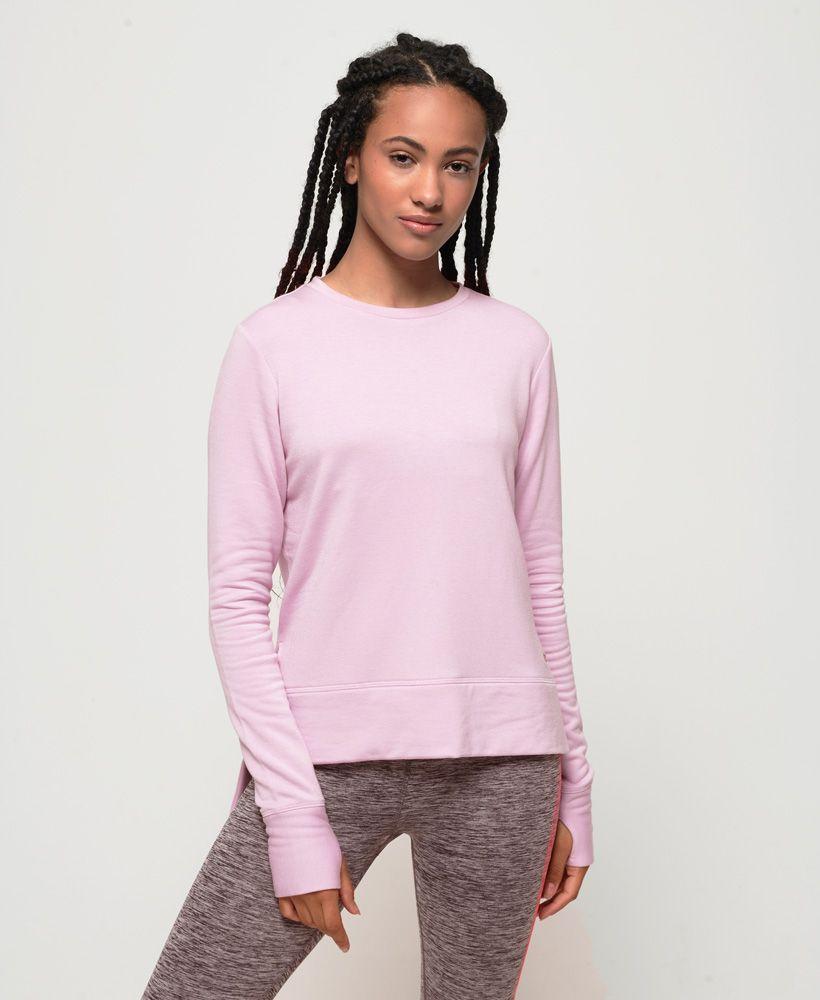 Superdry Active Studio Luxe Crew Sweatshirt