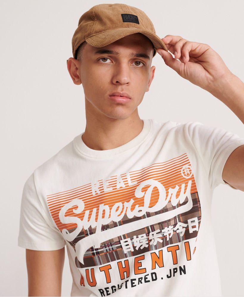 Superdry Vintage Authentic Check T-Shirt