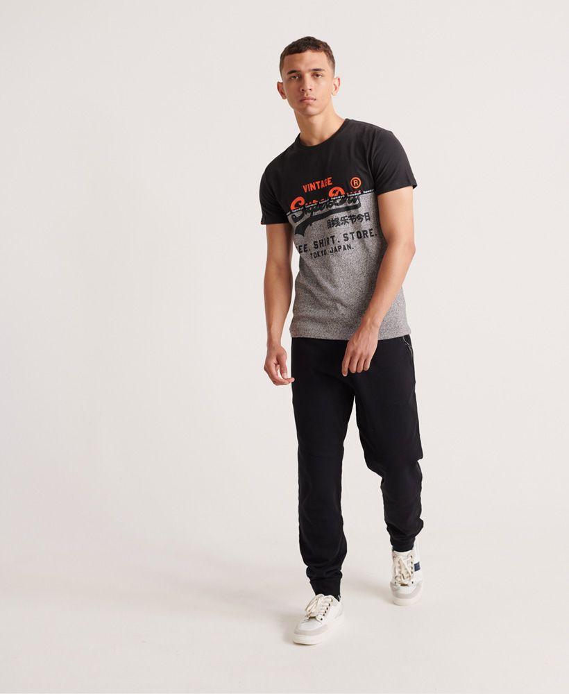 Superdry Shirt Shop Split Panel T-Shirt