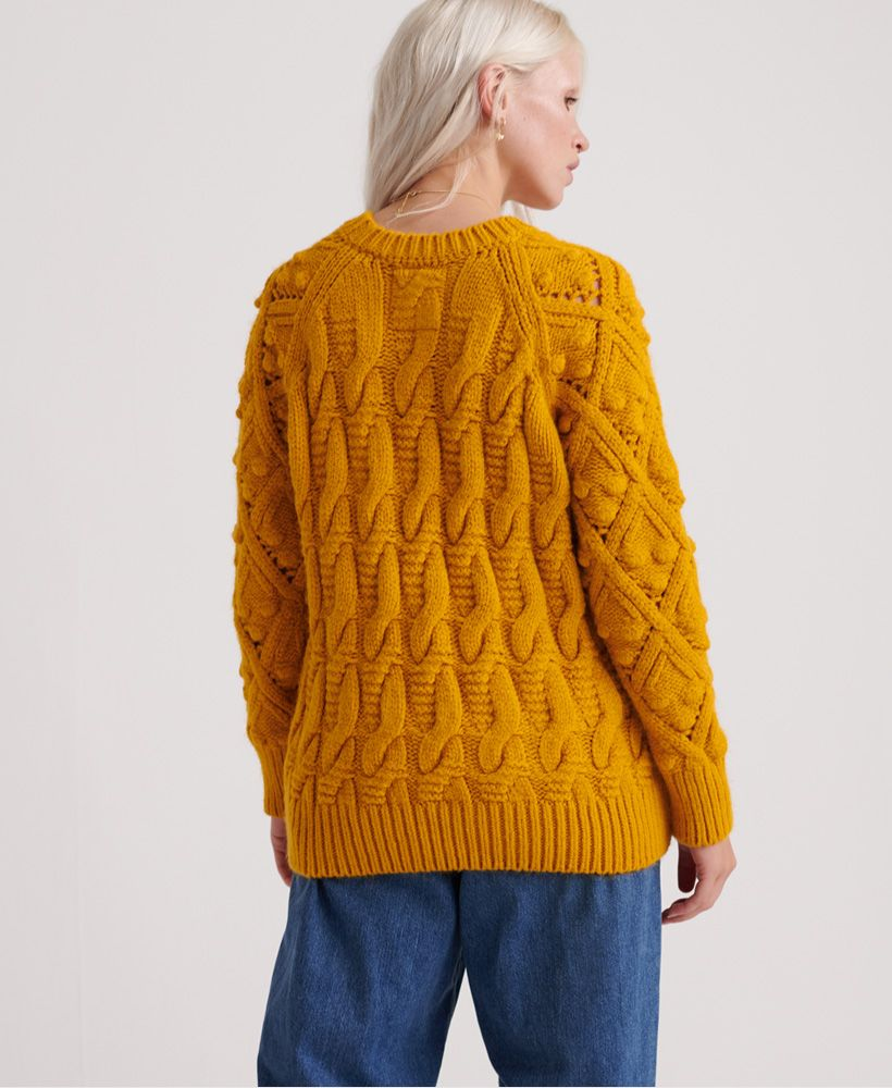 Superdry Sophie Ann Cable Knit