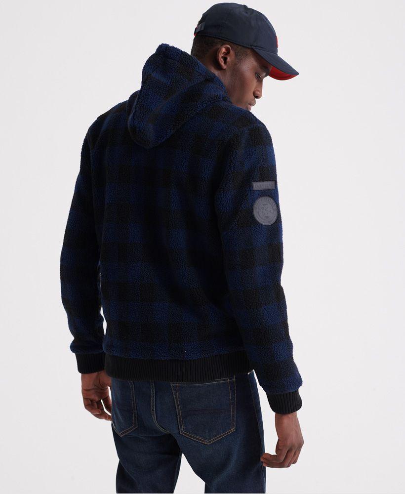 Superdry Core Sherpa Zip Hoodie