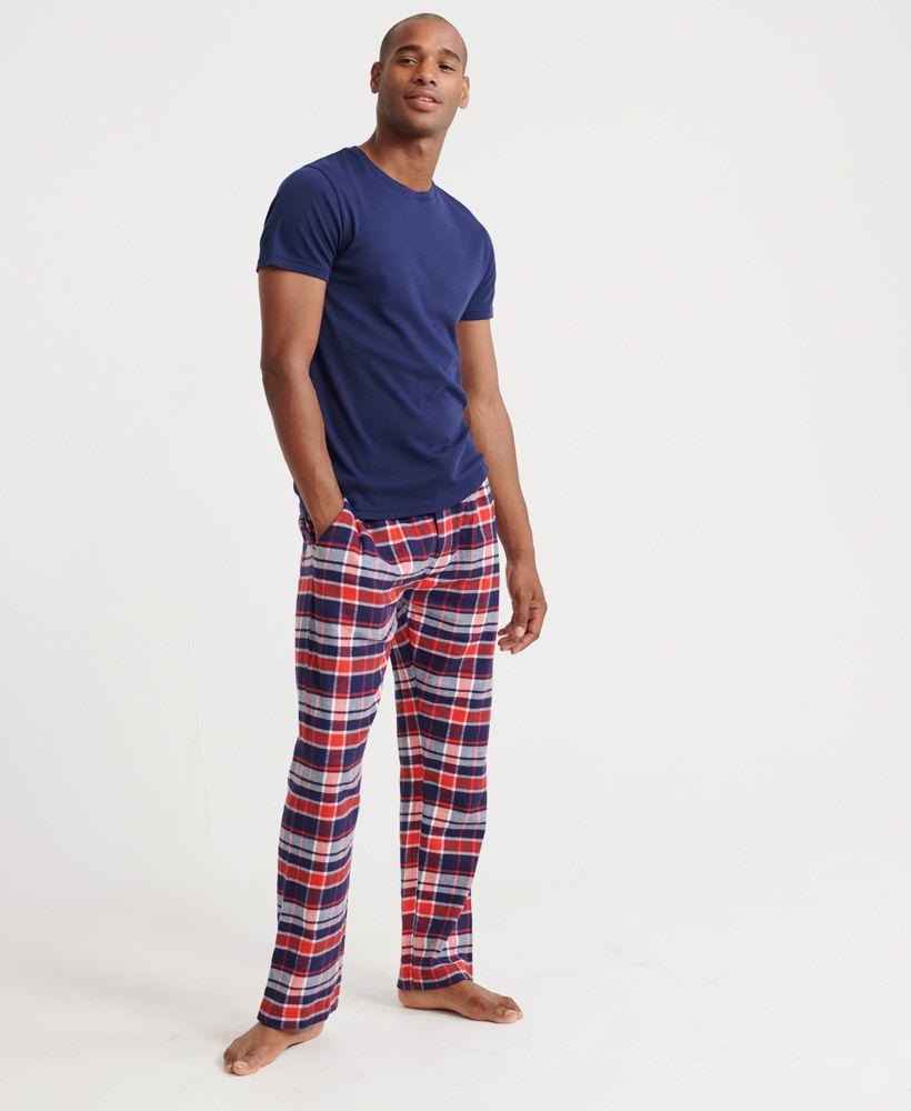 Superdry Organic Cotton Laundry Flannel Pant