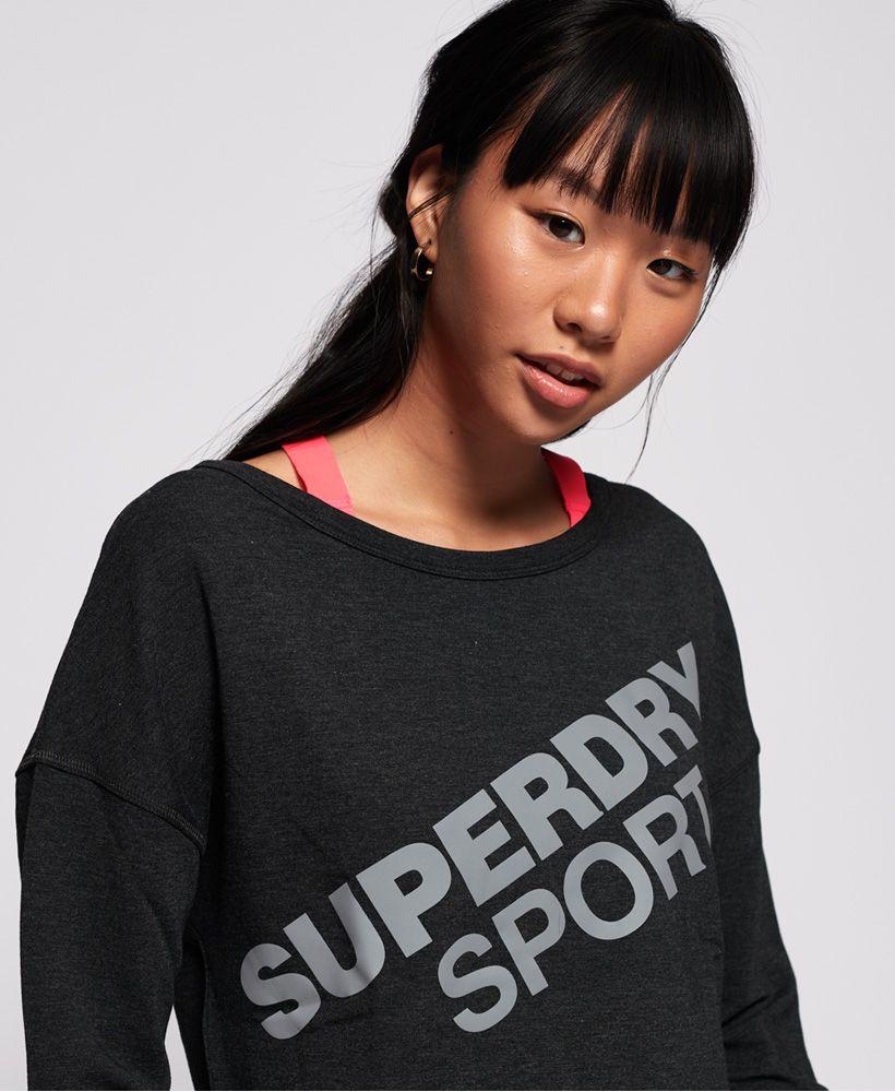 Superdry Active Graphic Crew Neck Top