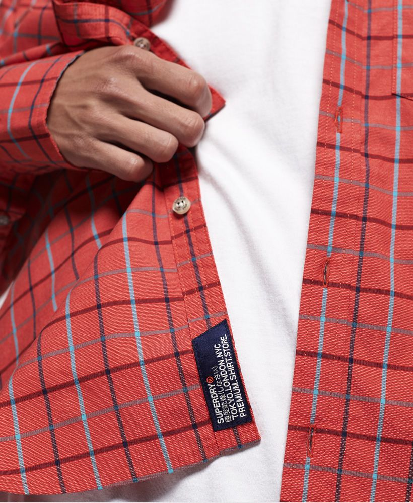 Superdry Ultimate University Oxford Long Sleeve Shirt
