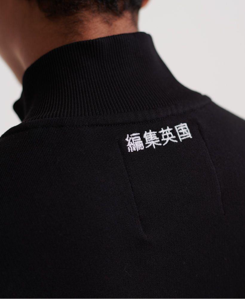 Superdry Edit Quarter Zip Sweat Dress