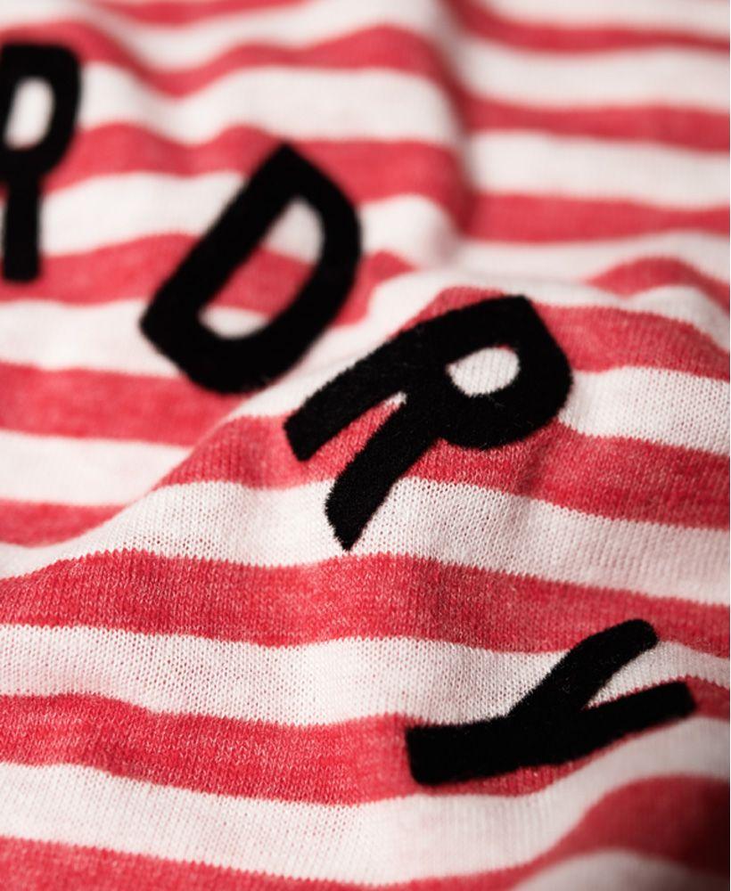 Superdry Coast Stripe Graphic Vest