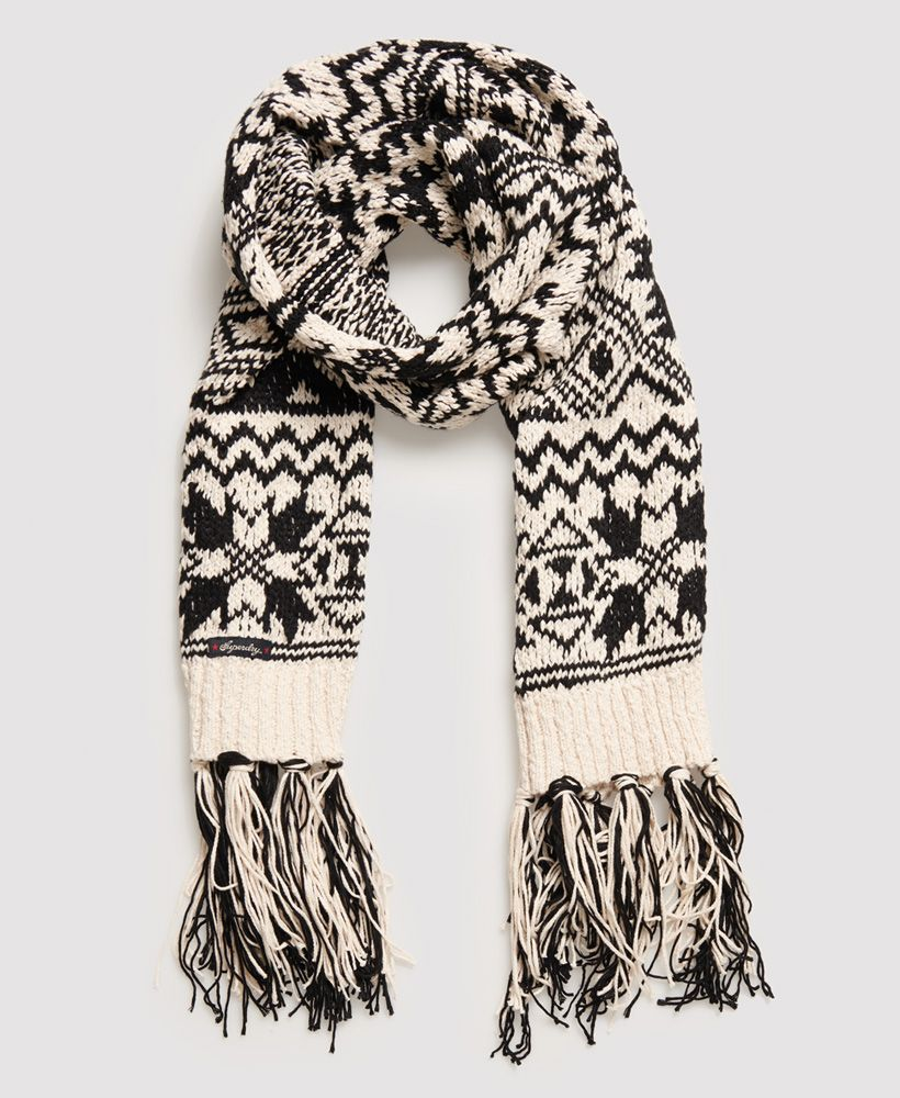 Superdry Rodeo West Textured Scarf