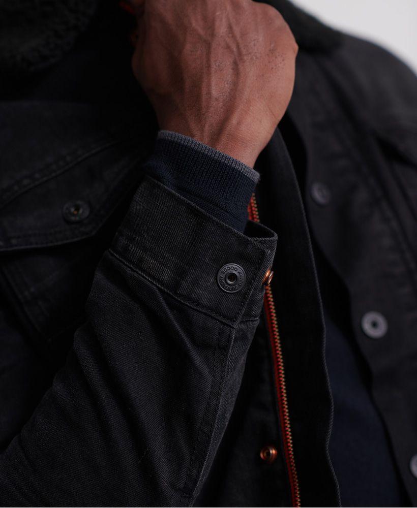 Superdry Hacienda Sherpa Denim Jacket