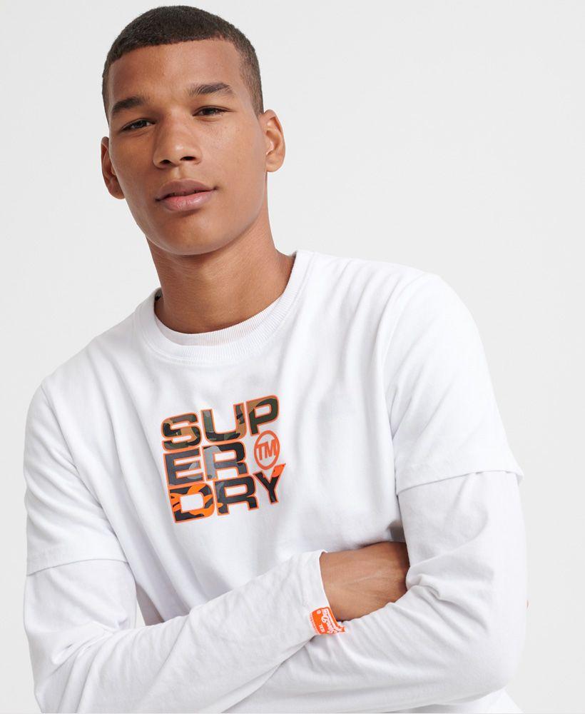 Superdry Split Camo T-Shirt