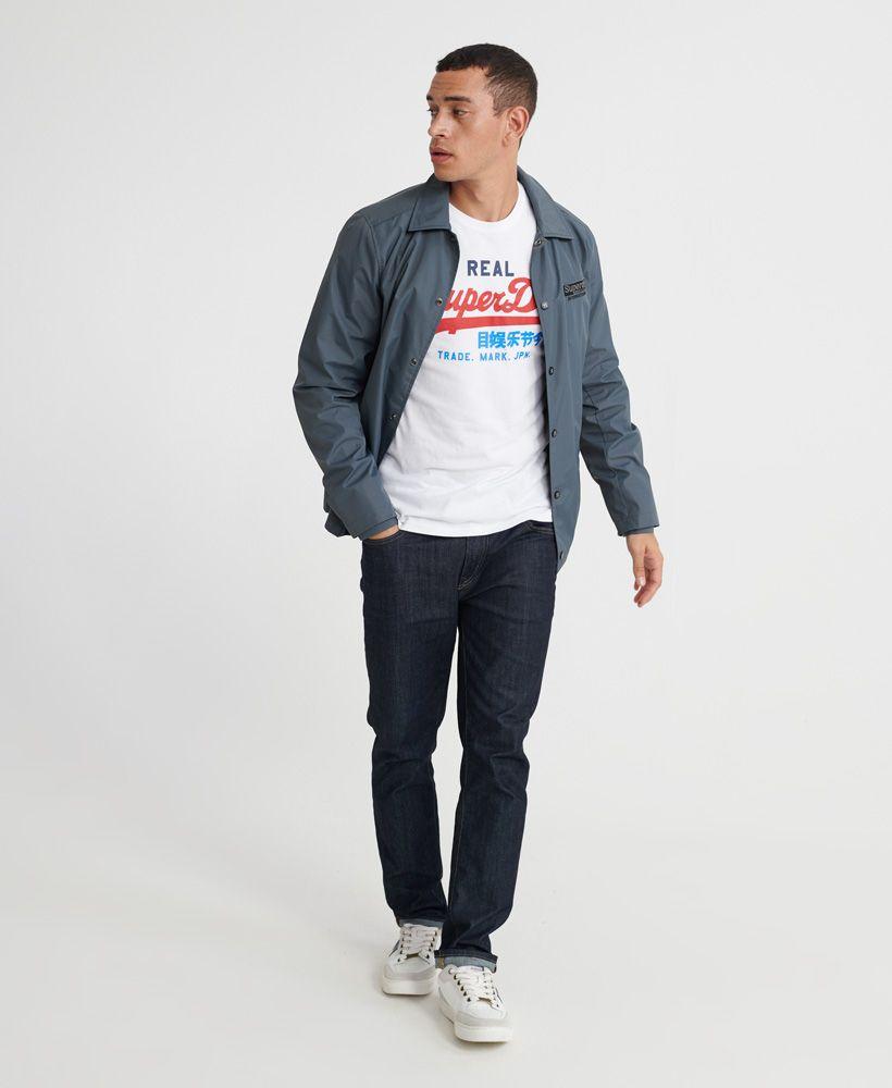 Superdry Vintage Logo Desert Long Sleeved T-Shirt
