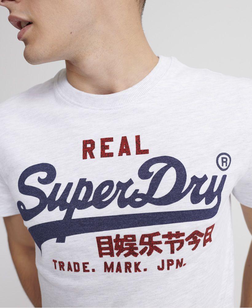 Superdry Vintage Logo Heat Sealed T-Shirt