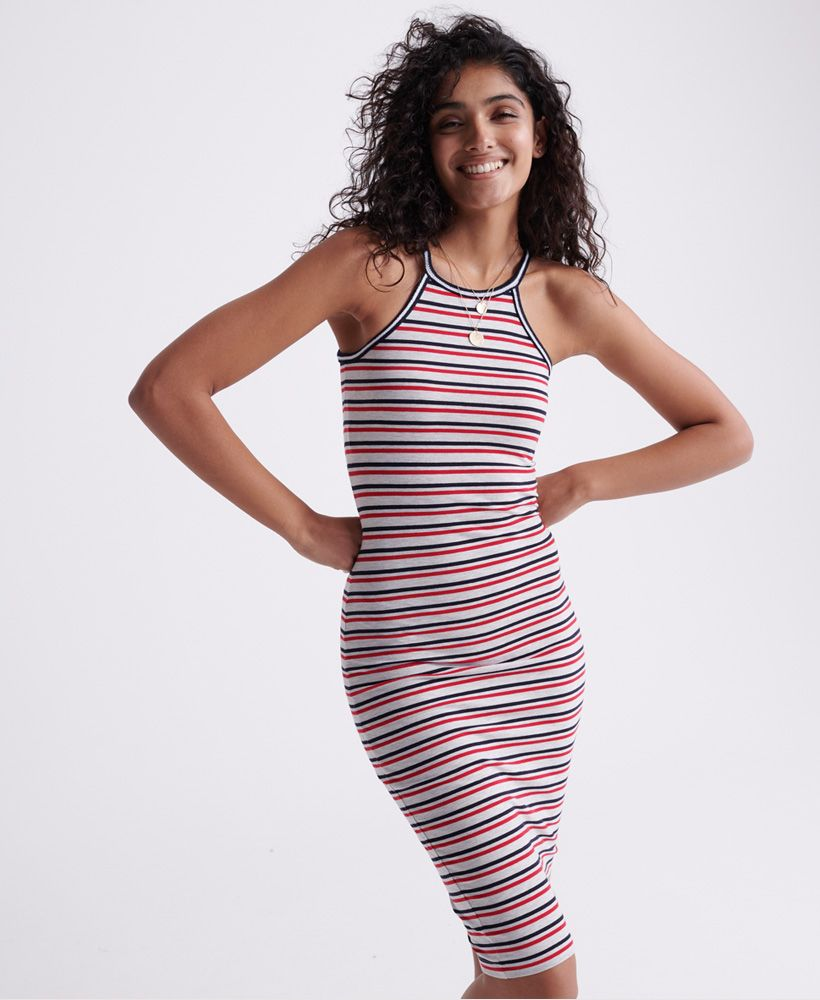 Superdry Tiana Graphic Midi Dress