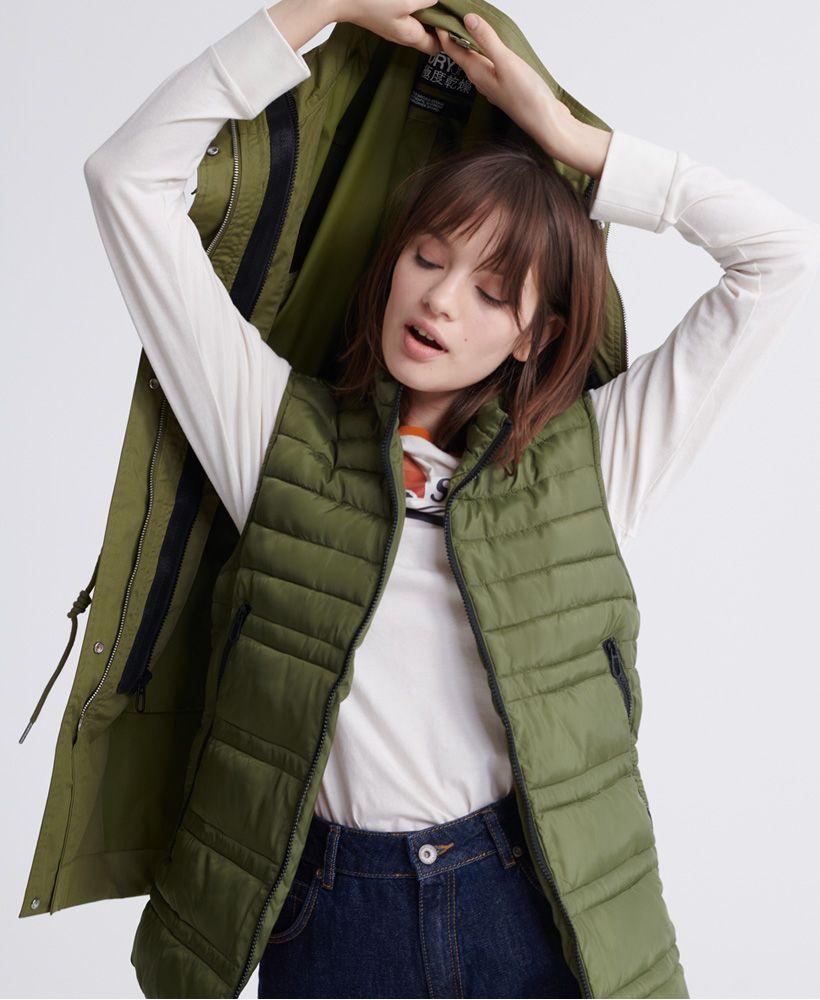 Superdry Long Sleeve Essentials Parka Coat