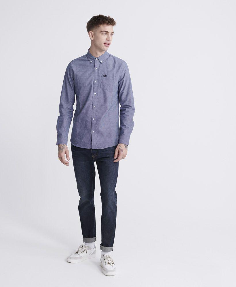 Superdry Classic University Oxford Long Sleeve Shirt