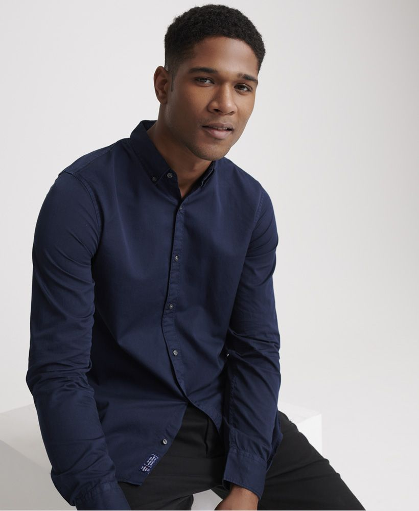 Superdry Classic Twill Lite Long Sleeved Shirt