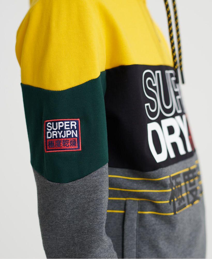 Superdry Crafted Print Half Zip Hoodie