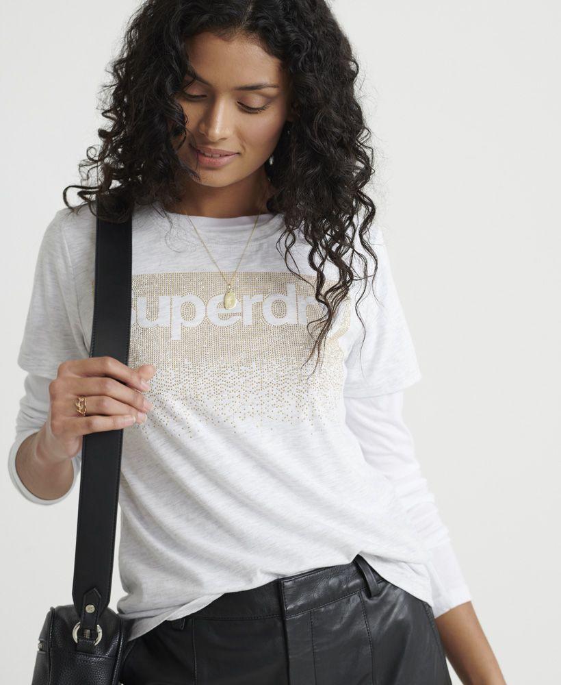 Superdry Swiss Logo Cascade T-Shirt