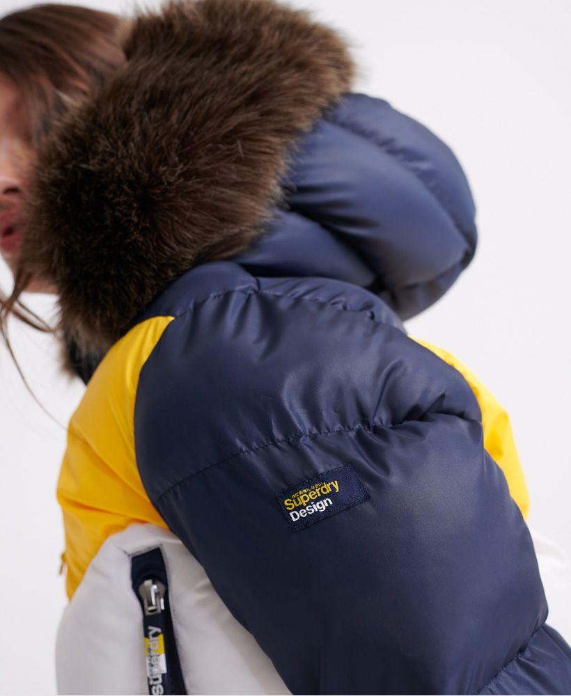 Superdry Sport Puffer Retro Crop Jacket