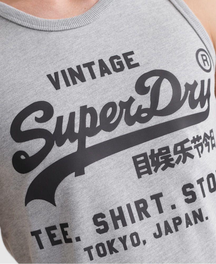 Superdry Vintage Logo Bonded Vest Top