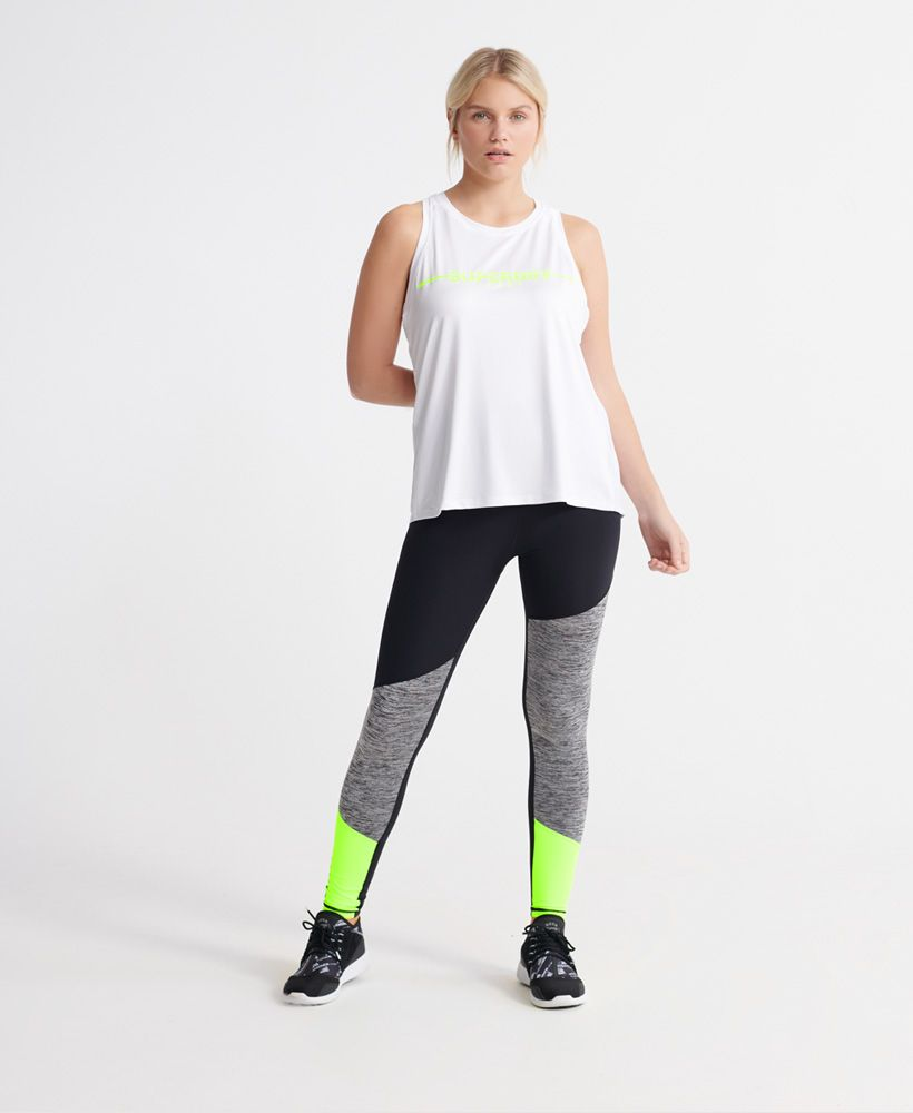Superdry Training Gym Vest Tops
