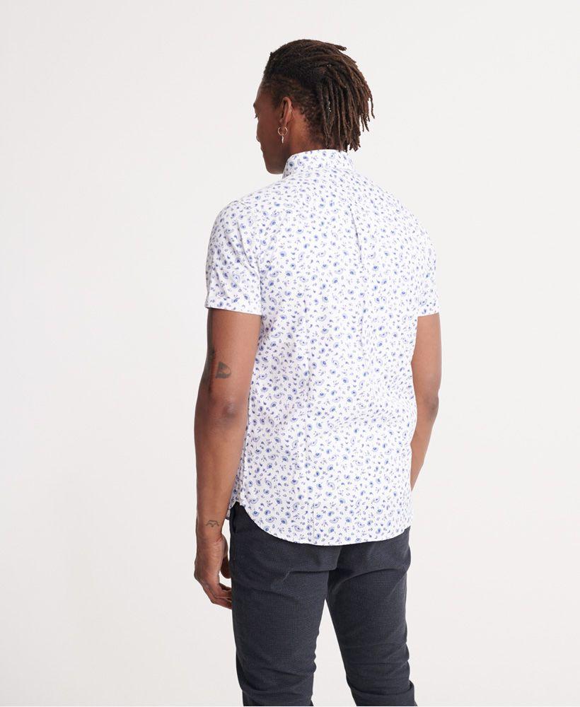 Superdry Classic Shoreditch Print Short Sleeved Shirt