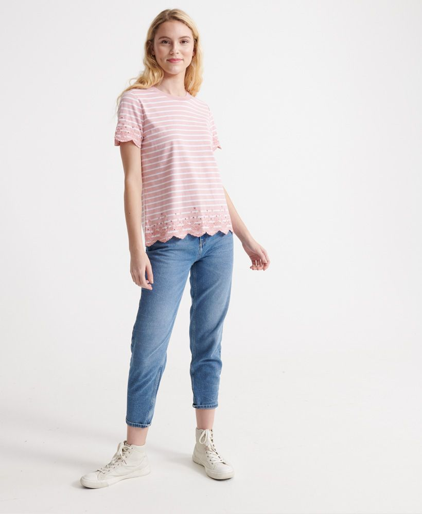 Superdry Summer Schiffli T-Shirt