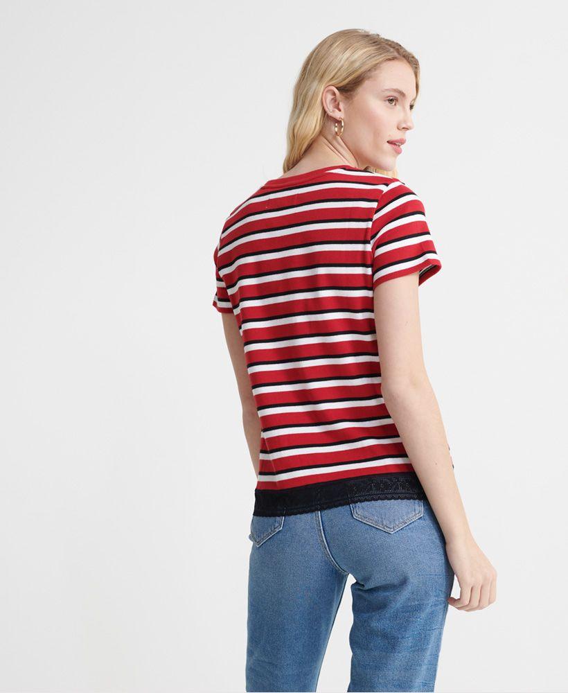 Superdry Lace Hem T-Shirt